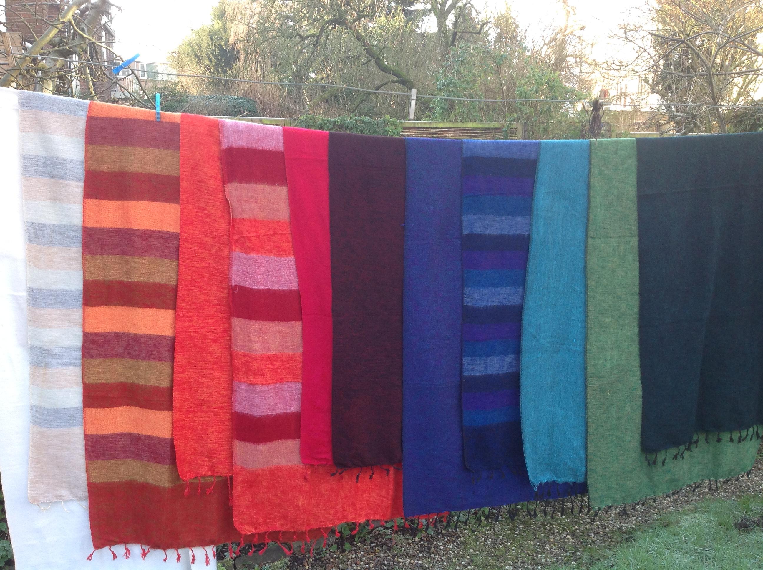 Tibetaanse omslagdoeken